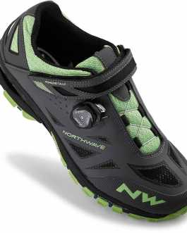 Northwave SPIDER PLUS 2 Mtb Shoes (Anthra – Green)