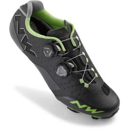 Northwave Rebel Scarpe MTB (Anthra – Acid Green)