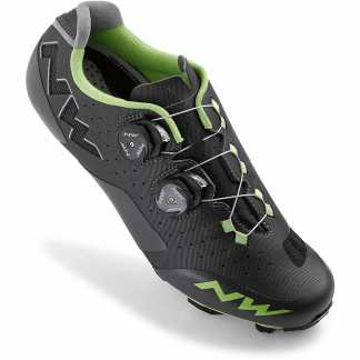 Northwave Rebel Scarpe MTB (Anthra - Acid Green)