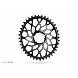 Corona Ovale ABSOLUTE BLACK SRAM BLACK CX/Gravel 1X DM n/w