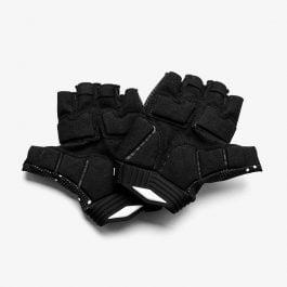 100% Exceeda Gel Finger Black guanti da ciclismo dita corte