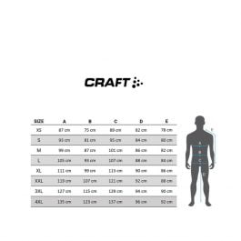 Craft Velo CONVERT Jacket Giacca impermeabile e antivento (gravity – lime)