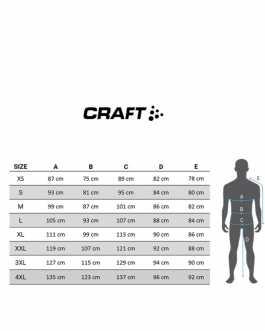Craft Men's Hale Glow Cycling Bib Shorts black-silver