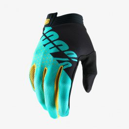iTRACK Glove Black/Aqua Gloves