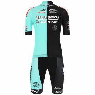 Bianchi Countervail Completo Ciclismo Maglia Pantaloncini
