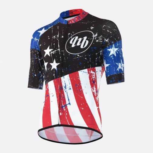MbWear American Maglia Ciclismo Estivo Linea Granfondo