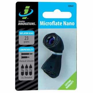 Genuine Innovations Microflate Nano Testina Gonfiaggio CO2
