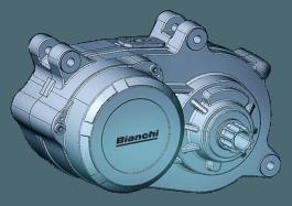 Bianchi T-TRONIK SPORT eMTB 9.1 – DEORE 10V – Nero Celeste