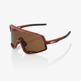 Occhiali 100% GLENDALE Soft Tact Bordeaux Bronze Lens