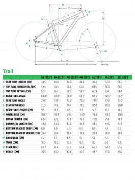 Cannondale TRAIL 5 29 2020 Mtb – Graphite