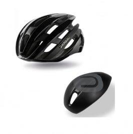 Dotout Kabrio HT Casco Bici da Corsa nero lucido – Nero Opaco