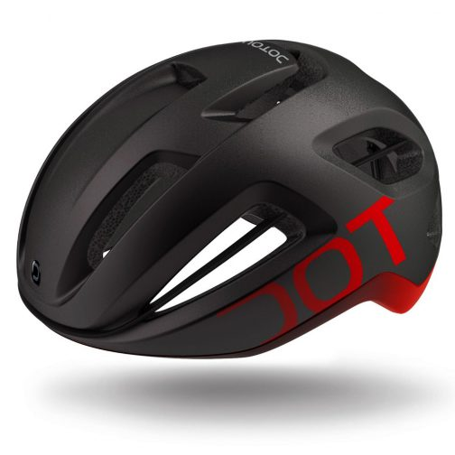 Dotout Coupé Pro Casco bici da corsa - Nero Rosso