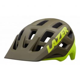 Lazer Coyote Helmet MTB Matte Green Flash Yellow
