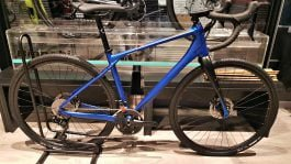 Gravel Bike Merida Silex 400 Matt Blue