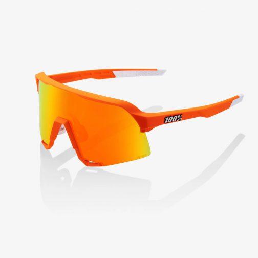 Occhiali 100% S3 Mathieu Van der Poel Limited Edition – Neon Orange