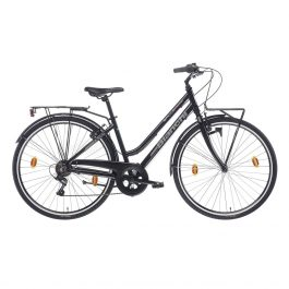 Bianchi Spillo Turchese DS Lady Bici donna City – Nero Lucido Tg. 43