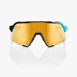 Occhiali 100% S3® BWR Black Soft Gold Mirror Lens – Edizione Limitata