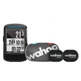Wahoo Element Bolt STEALTH GPS Computer – Bundle con sensori e fascia cardio