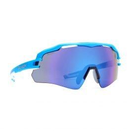 Demon Imperial Occhiali da Ciclismo azzurro con lente specchiata